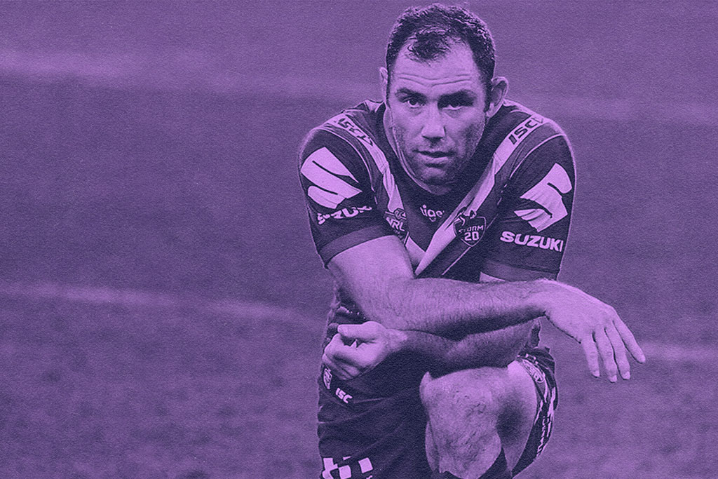 Cameron Smith Kneeling