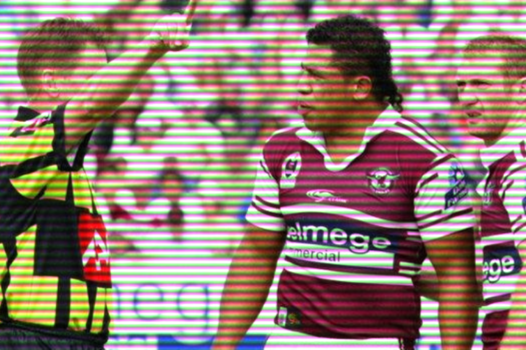John Hopoate being Sent off
