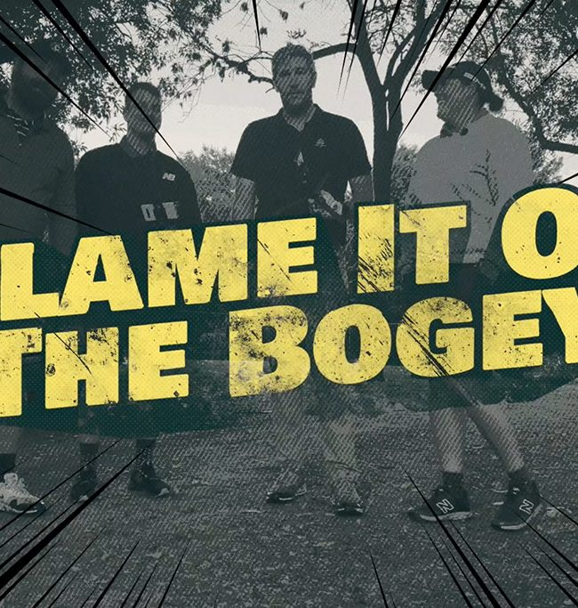 Blame it on the bogey crew