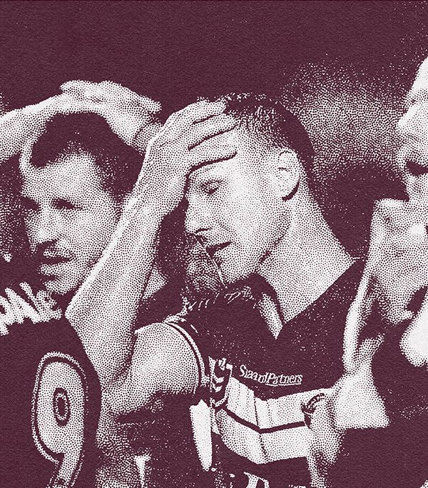 Manly Sea Eagles Looking Dejected